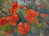FLORALS  Oil on canvas board