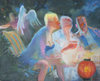 COLLECTIVE CONSCIOUSNESS;            Carnivale / Restaurant  oil/canvas