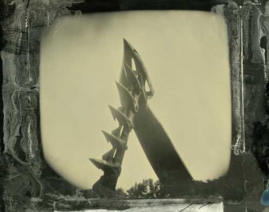 just tintypes digital print of wet plate collodion tintype