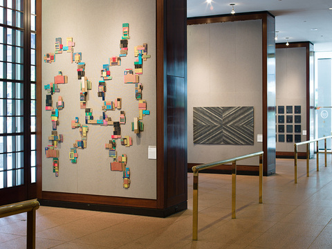 Leslie Kerby (NEW) Containments Sculpture | Video | Installation Oil on cardboard