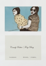 Leslie Kerby To Whom It May Concern Monoprint w/ digital print