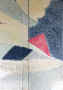 Leslie Shaw Zadoian Recent Work Acrylic, pastel, and pencil on canvas and wood
