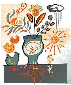 Leticia Plate Illustration Portfolio