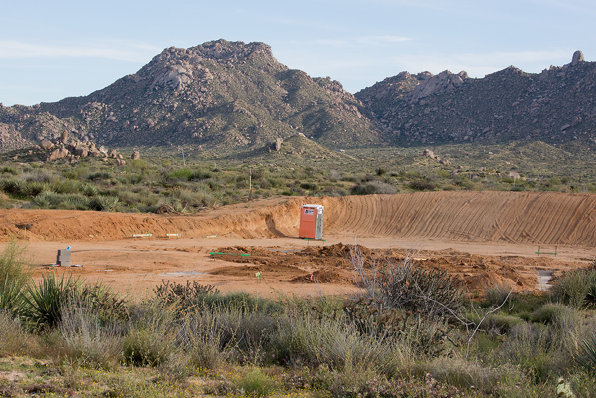 Custom Homes: Razing the Desert Two Cholla, 2015
