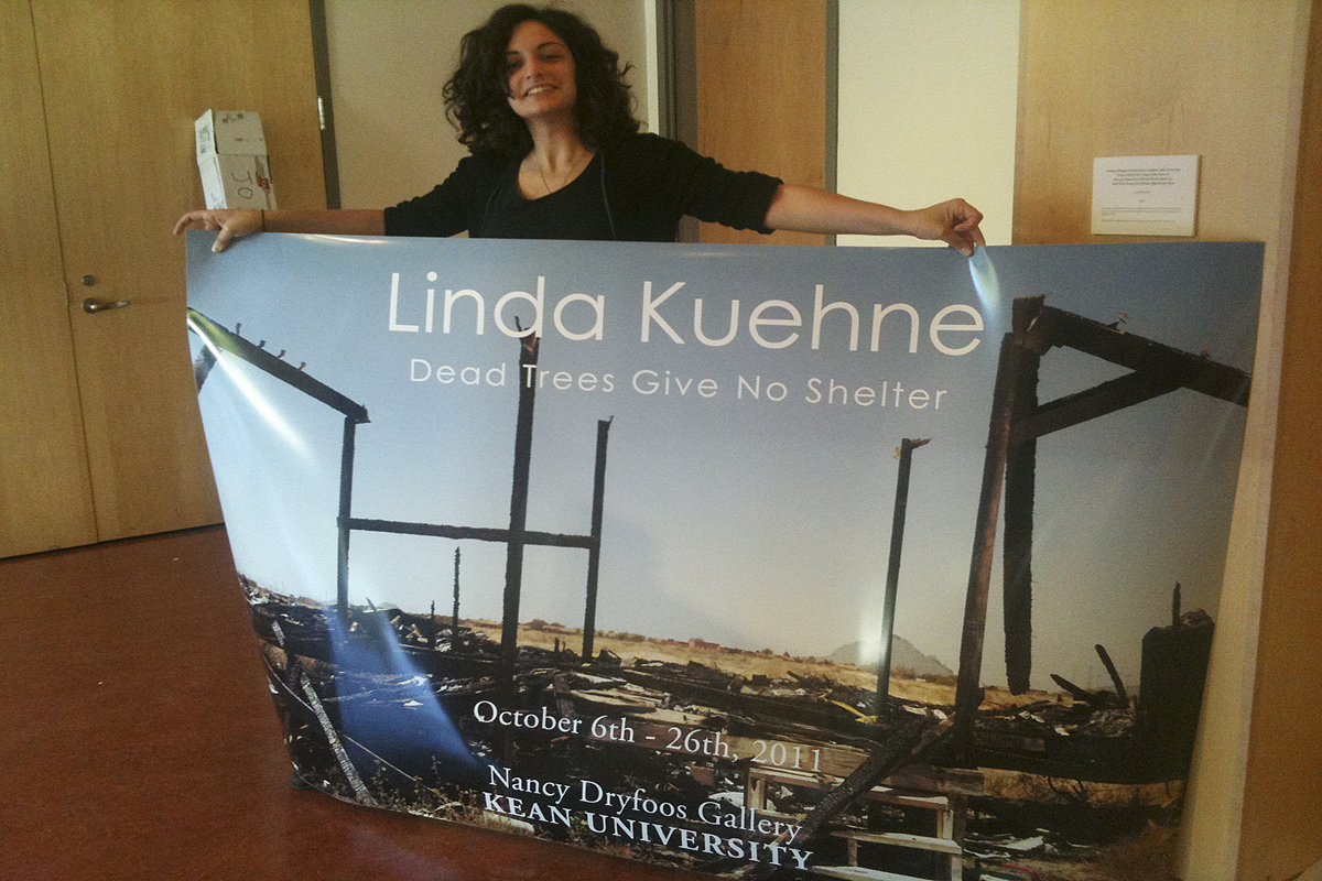 "EXHIBiTIONS ""Dead Trees Give No Shelter,"" Solo Exhibition, Kean Univeristy, Union, New Jersey"