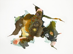 LINDA LEE NICHOLAS Hybrids Mixed Media on Paper