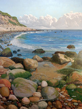 Frank Lind New Work (Seascapes) o/c