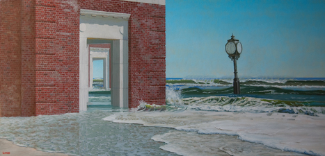 Frank Lind The Sea Level Series O/C