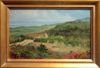 Frank Lind Small Seascapes  Oil on canvas
