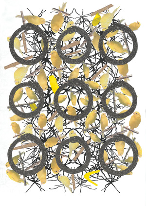 Lindsay Iliff Black Pinion Group Limited Edition Digital Print