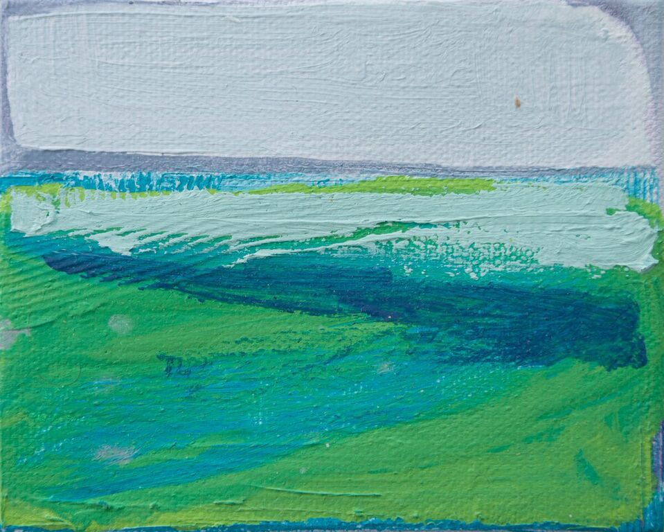 Tiny Paintings Tiny Painting: Emerald Isle