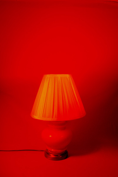 Seeing Red Lamp
