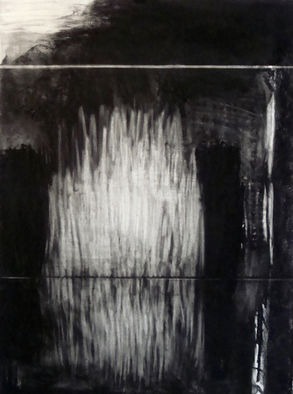Lin Price Works on Paper- 2015-'16 charcoal on paper