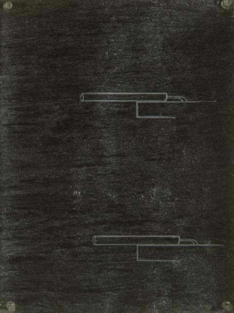 Metallic Drawing Series 1998-2000  Right Angle Aluminum Laser B