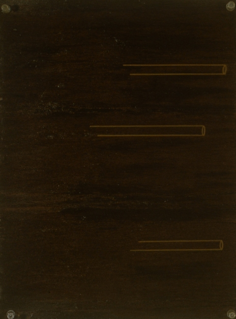 Metallic Drawing Series 1998-2000 Copper Light Tubes A