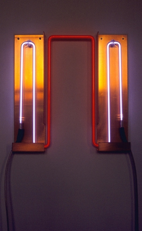 Neon Sculptures 1991-2008 Infrared Wave