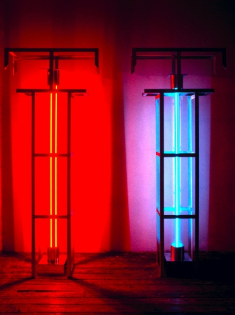 Neon Sculptures 1991-2008 Neon and Argon Electrodes