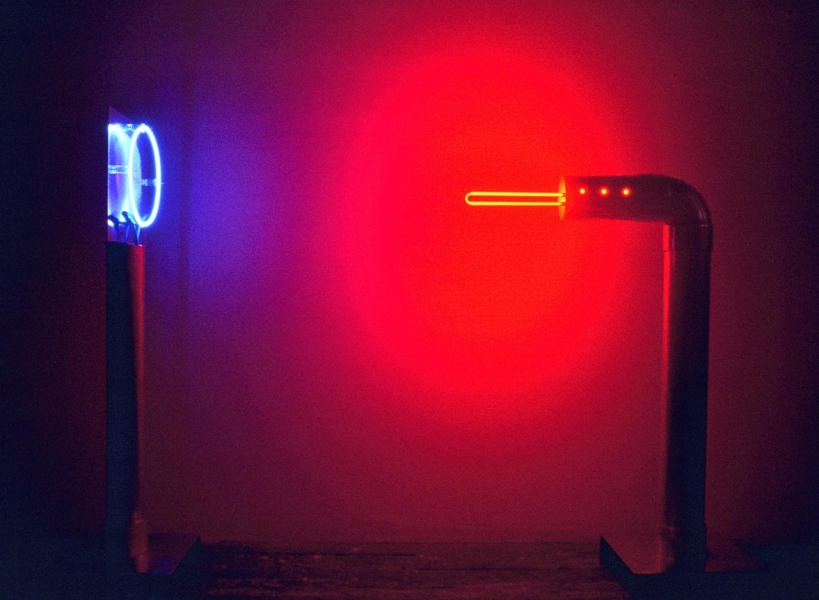 Neon Sculptures 1991-2008 Neon Ray Gun