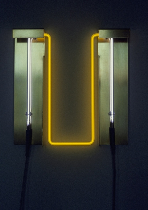 Neon Sculptures 1991-2008 Solar Discharge