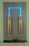 Neon Sculptures 1991-2008 copper, aluminum, clear glass tubing, argon gas