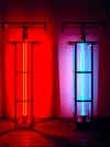 Neon Sculptures 1991-2008 copper, aluminum, acrylic tubing, clear glass tubing, neon, argon gases