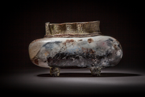 Raku, Pit Fire and Luster ware Pit fired Submarine