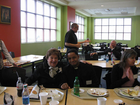 Our Lady of Lourdes Church, West Orange, NJ Bonding over lunch