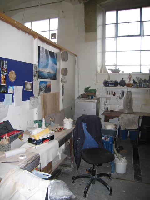 Meadow Mill Studio, Dundee, 2005 Pottery studio, Meadow Mill, Dundee