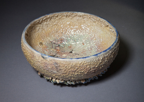 Acquatics Gold and glass reef bowl