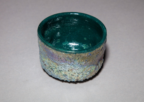 Acquatics Raku reef chawan 2