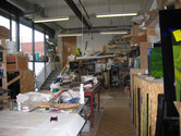 Stephen Richard's glass studio