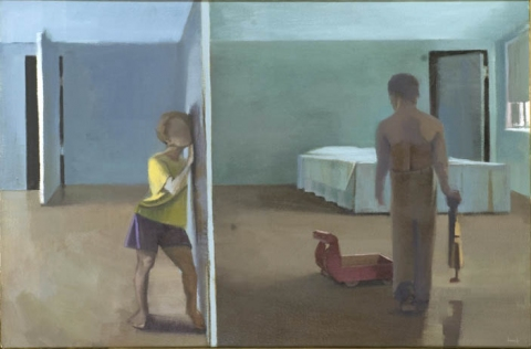 Children, Both Bad + Good oil on canvas
