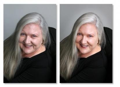 Lisa Streib Portrait Retouching
