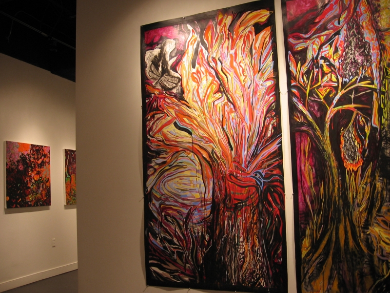 "Lorrie Saunders Art Gallery / Nov. 20, 2010-Jan. 15, 2011 / Norfolk, VA Exhibition: ""A Slow Walk Through Secrets"""