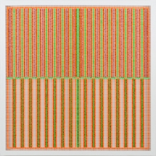 Livio Saganić Selected Works 2011-2012 Flashe and Enamel on Wire Cloth