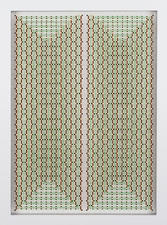 Livio Saganić Selected Works 2013-2014 Flashe and Enamel on Nylon