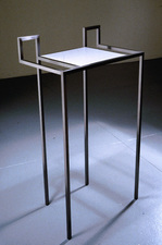 Livio Saganić Tables Steel and aluminum