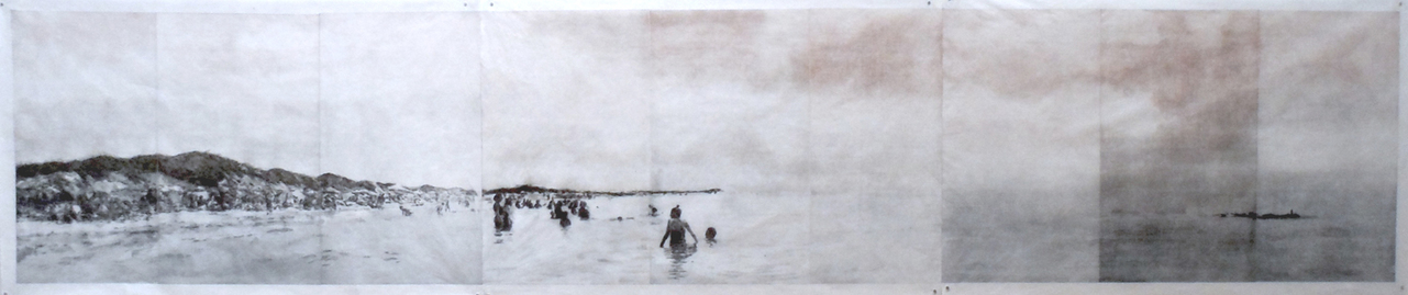 Liz Chalfin panorama cape cod photo-intaglio