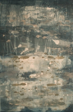 Liz Dexheimer Swamp Series- large format monotype