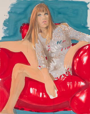 Jane Birkin Red Chair