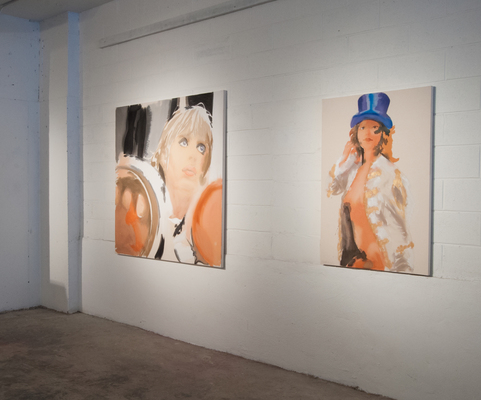 LIZ MARKUS 2015 GIRLFRIENDS OF THE ROLLING STONES 199 Mott Street, New York