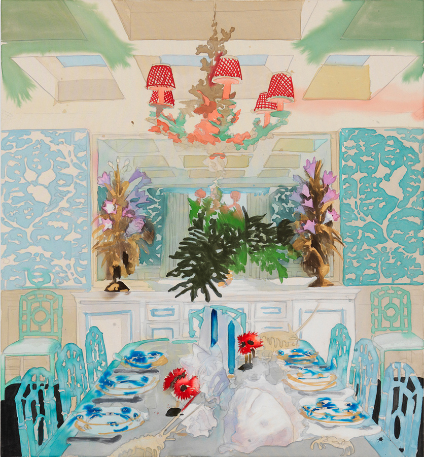 PORTRAITS, INTERIORS, AND LANDSCAPES Celerie Kemble Dining Room