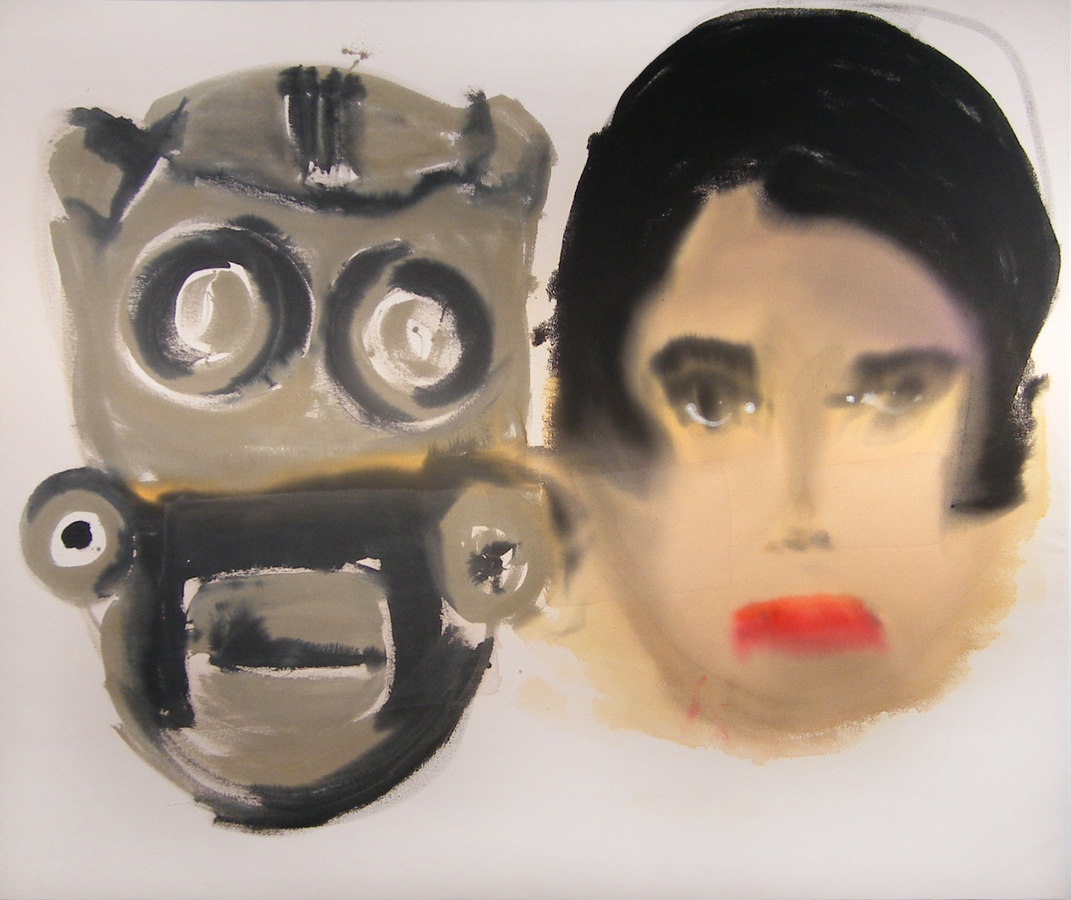 COLLAGE 2 Mask Head