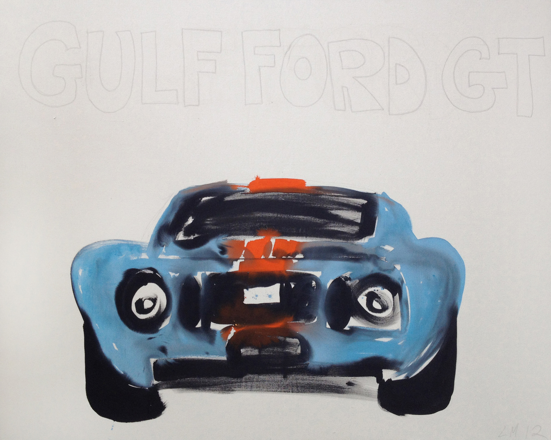 ELEVEN Gulf Ford GT (Horizontal)