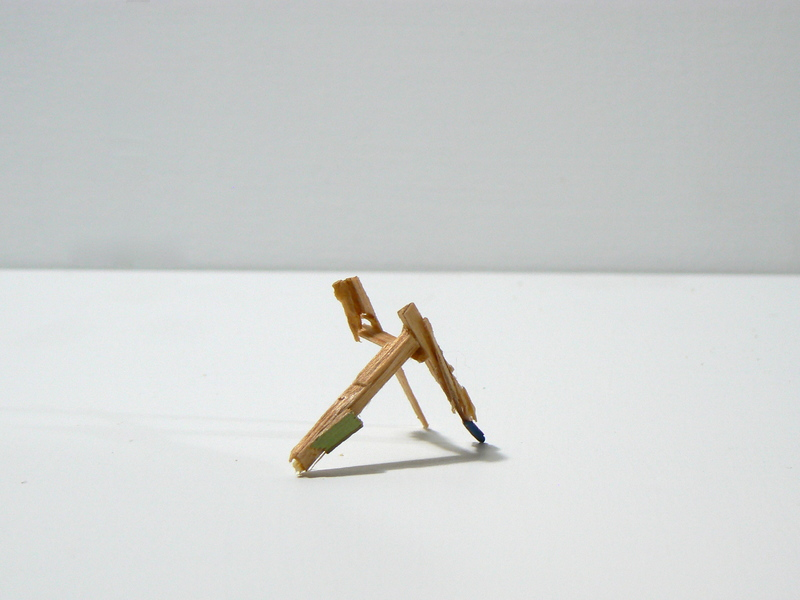 Splinter Sculptures 2014-2015 Untitled (Splinter #7)