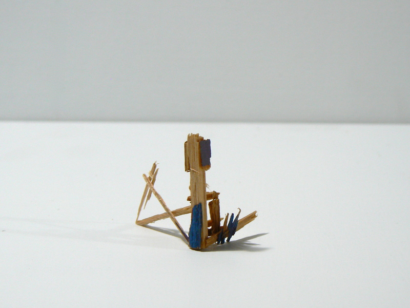 Splinter Sculptures 2014-2015 Untitled (Splinter #4)