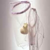 Wire Latex Fabric Paper 1998-2010 Tulle, fabric, thread, wire