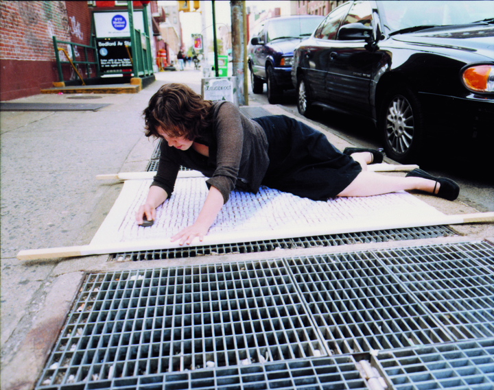 Performance/Total Styrene The Satin Subway Grate Rubbings