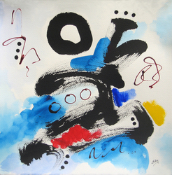 Lois Eby Paintings on Paper ink & acrylic