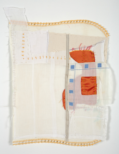 Lori Glavin TEXTILES Vintage Fabric, Silk, tape, embroidery Floss and Thread